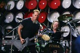 James Hetfield Photo - James Hetfield (Left) and Lars Ulrich of Metallica Performing at Live Earth in Wembley Stadium in London Great Britain 07-07-2007 Photo by Alec Michael-Globe Photos Inc 2007