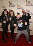Anvil Photo - Steve Kudlow Robb Reiner Steve-o and Glenn Five During the 2009 Mtv Movie Awards Held at the Gibson Amphitheatre on May 31 2009 in Los Angeles Photo Michael Germana-Globe Photos Inc K62267mge Anvil