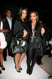 Vanessa Simmons Photo - Mercedes-benz Fashion Week - Spring 2010 Charlotte Ronson Fashion Show-celebs Bryant Park NYC September 11 09 Photos by Sonia Moskowitz Globe Photos Inc 2009 Angela Simmons and Vanessa Simmons