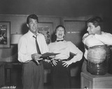 Dean Martin Photo - Shirley Maclaine with Dean Martin and Jerry Lewis on the Set of the Vistavision Film 1967photo by smp-globe Photos Inc