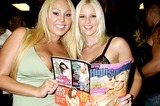 Hannah Harper Photo - Mary Carey and Hannah Harper Autograph Signing at Stans Hollywood CA (092804) Photo by ClintonhwallaceipolGlobe Photos Inc2004 Mary Carey and Hannah Harper