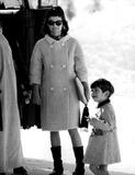 Jacqueline Kennedy Onassis Photo - Jacqueline Kennedy and John Jr 21257 George DomondGlobe Photos Inc Jacquelinekennedyonassisobit