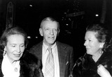 Fred Astaire Photo - Fred Astaire with Adele Astaire and Daughter Photo by Photo Trends-Globe Photos Inc