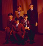 Dave Clark Photo - Dave Clark Five Lenny Davidson Dave Clark Rick Huxley Denis West Payton and Mike Smith Photo by Jack Stager-Globe Photos Inc