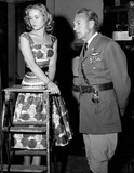 Gary Cooper Photo - Elizabeth Montgomery with Gary Cooper Photo by Smp-Globe Photos Inc