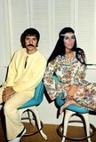 Sonny  Cher Photo - Photo Globe Photos Inc Sonny Bono and Cher