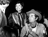 Neile McQueen Photo - Neile Mcqueen and James Garner at the Share Boomtown Party 5211979 1970s 3334 Nate CutlerGlobe Photos Inc