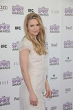 Brit Marling Photo - Brit Marling attending the 2012 Independent Spirit Awards - Arrivals Held at the Santa Monica Beach in Santa Monica California on 22512 Photo by D Long- Globe Photos Inc