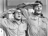 Andy Griffith Photo - Nick Adams Andy Griffith in No Time For Sergeants Photo Supplied by Globe Photos Tv-film Still